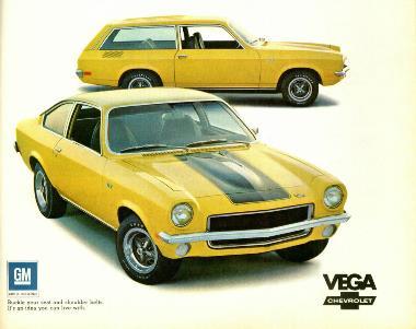 Chevy Vega Ad